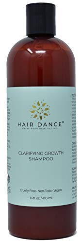 (Apple Cider Vinegar Clarifying Growth Shampoo for Thinning Hair and Sensitive Scalp. Gentle to Itchy, Dry Scalp - Natural, Herbal, pH Balanced, No Sulfates or Parabens. Peppermint Scent 16 oz.)