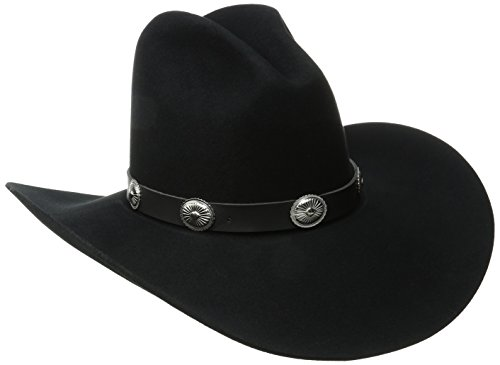 Bailey Western Men's Tombstone, Black, 7 1/2