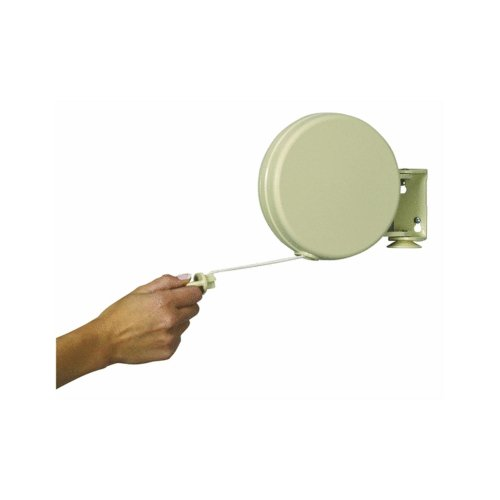 Household Essentials 40 Feet Single Line Retractable Clothesline Item (Retractable Single)