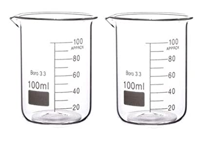 Rocwing 5L Boro 3.3 Glass Graduated Measuring Glass Beaker for Lab or Kitchen