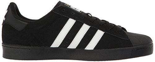 adidas Originals Herren Superstar Vulc ADV Schuhe Kern Schwarz / Weiß / Kern Schwarz