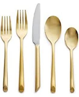 Hotel Collection Gold Flatware 20 Piece Set