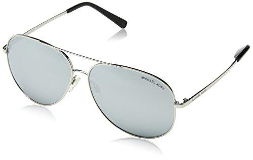 Michael Kors Men's Aviator Sunglasses, Silver/Grey, One - Mens Kors Sunglasses Aviator Michael