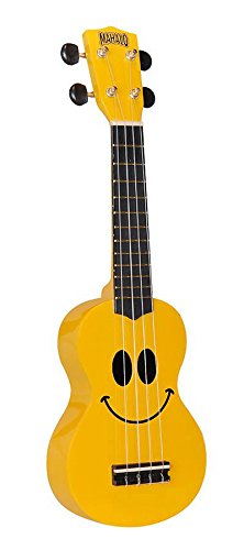 Mahalo Usmile Guitar Machineheads Ukelele Yellow