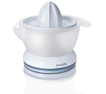 Philips - Exprimidor Hr2737, 25W, 0,4L, Blanco-Verde Azulado: Amazon.es: Hogar