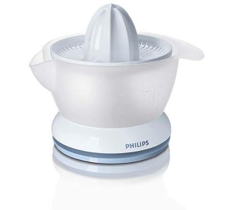 Philips - Exprimidor Hr2737, 25W, 0,4L, Blanco-Verde Azulado ...