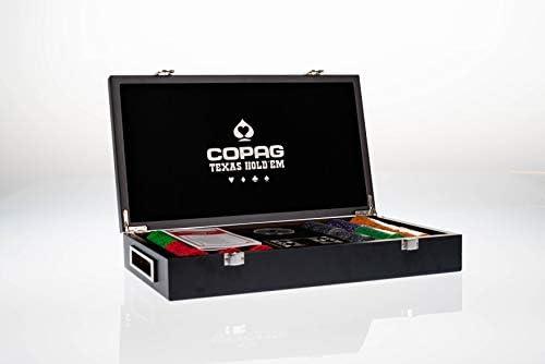 Copag - Coffret Bois Luxe - 300 Jetons - Jeu de Poker