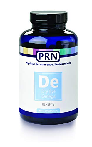 Physician Recommended Nutriceuticals PRN Omega Benefits Fish Oil 240 Softgels (Best Supplements For Dry Eyes)
