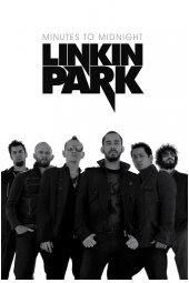 Linkin Park Minutes to Midnight Music Poster Print