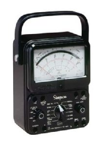 Simpson 260-8 12388 Black Analog Multimeter<br />