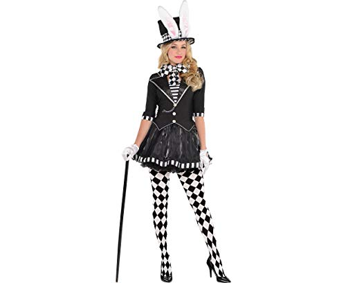 AMSCAN Dark Mad Hatter Halloween Costume for Women, Small, with Included Accessories ()