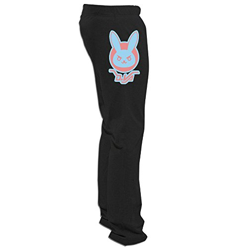 ZZYY Men's Cute DVA Logo Over First-Person Shooter Video Game Watch Sweatpants 3X -