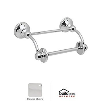 (Rohl U.6947APC U.6947 Perrin and Rowe Single Post Spare Toilet Paper Holder, Polished Chrome)