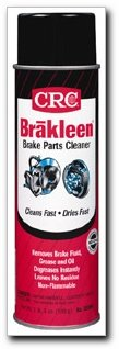 BRAKLEEN Brake Parts Cleaner, 1lb. 3 oz. can, Case of 12 (05089F-C)