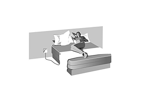 Earthing Half Sheet - For Any Size Bed inc Cable Connection Plus A FREE US Socket Tester and Earthing Audio Book. Grounding Sheet For Better Sleep & More Energy. Comes -