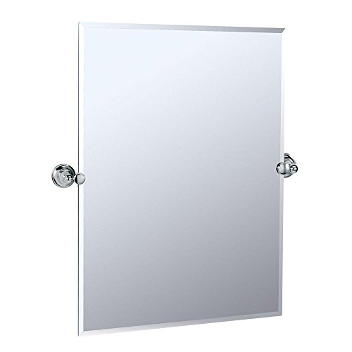 Gatco 4329S Tiara Rectangular Wall Mirror, Chrome from Gatco