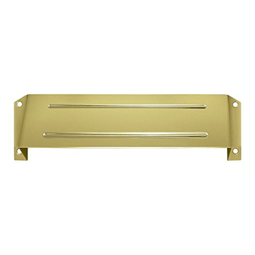 Deltana MSH158U3 MS211 and MS212 Solid Brass Letter Box Hood for Privacy Use with MS0030
