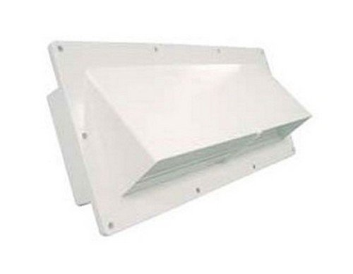 VENTLINE V2111-18 RV Trailer Camper Appliances Range Hood Vent Natural White (Ventline Rv Vents)