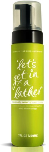 Scottish Fine Soaps Get Flirty 200ml Deliciously Sweet Shower Mousse by Scottish Fine Soaps