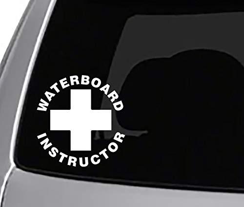 (Seek Waterboard Instructor Decal CAR Truck Window Sticker Funny Joke)