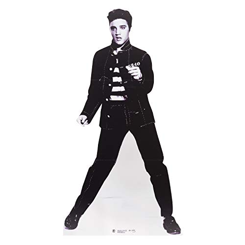 (Star Cutouts SC574 Official Cardboard Cutout of Elvis Jailhouse)