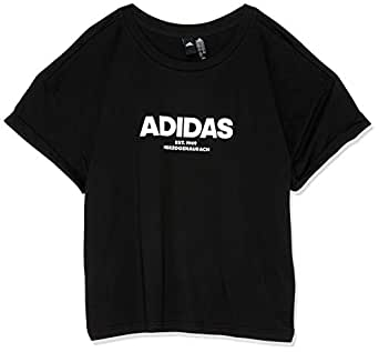 adidas Women's Essentials AllCap T-Shirt, Black(Black), XS(X-Small)