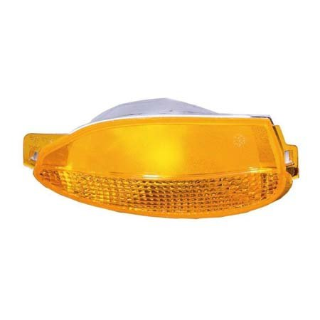 Fits 2000-2005 Buick Lesabre Passenger Side Turn Signal/Side Marker Light GM2531122 - Replaces 10386586 ;park/signal combination