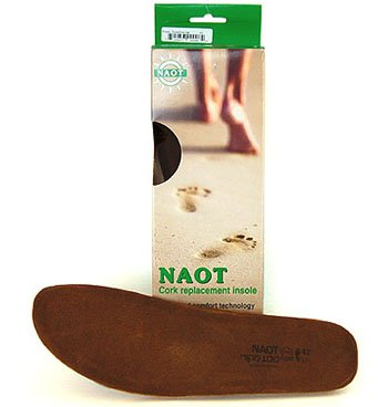 Naot Footwear Women's FB01 - Scandinavian Replacement Footbed Natural Insole 39 (US Women's 8) M