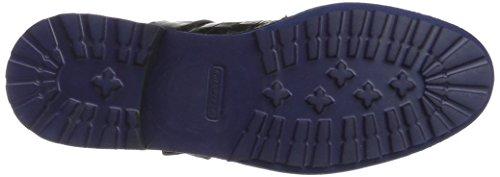 SHOES Blue HAMILTON Strap MADE OF Crock Navy MELVIN Black 22 HAND amp; CLASS Schwarz Aspen Amelie Crust Damen Stiefel MH F5WWHqX