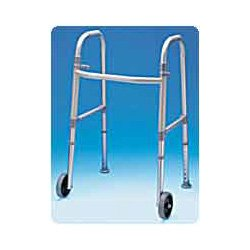 Carex Adult Dual Paddle Walker with Wheels And Glides (RMA84790) Category: Walkers
