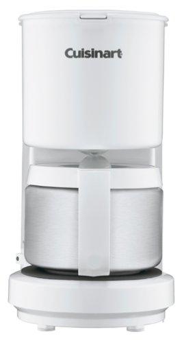 Cuisinart DCC-450 4-Cup Coffeemaker with Stainless Steel Car