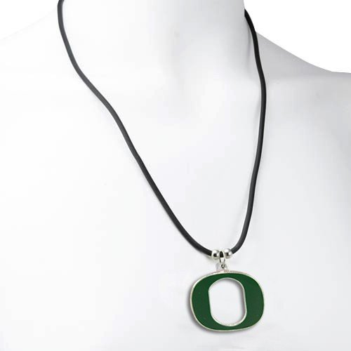Oregon Ducks Logo Pendant Necklace ()