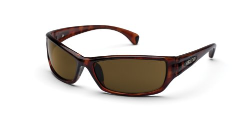 Suncloud Optics Hook Sunglasses (Havana with Brown Polarized Polycarbonate - Lens Sunglasses Polycarbonate