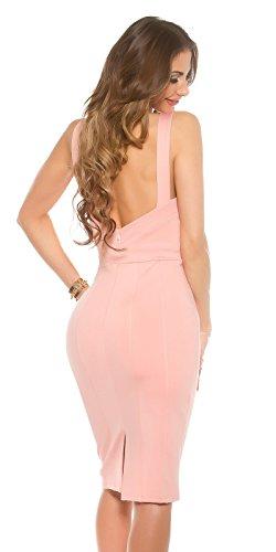 KouCla - Vestido - Estuche - para mujer salmón