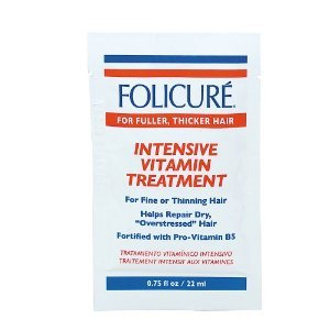 Folicure Intensive Vitamin Treatment Packettes (Pack of 12)