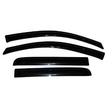 auto ventshade 94858 original ventvisor window deflector 4 piece automotive. Black Bedroom Furniture Sets. Home Design Ideas