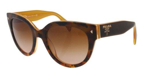 light havana/opal yellow frame/brown gradient lens prada pr17os 太阳镜太阳眼镜