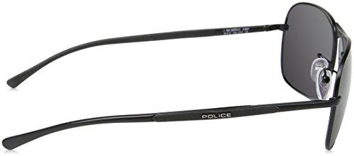 Semi de Soleil Lunettes Police matt Black Gris Homme fvXw6q