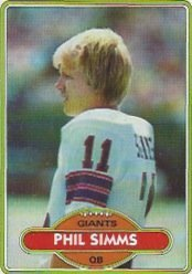 1980 Rookie Card (1980 Topps Football Complete Set 528 Cards Nrt to Mint Phil Simms Rookie)