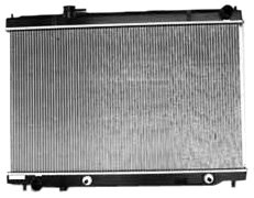 TYC 2780 Infiniti M35 1-Row Plastic Aluminum Replacement Radiator