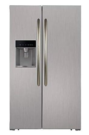 PKM SBS5 98.4 a + nficix Side by side nevera y congelador/independiente/altura 183 cm/A +/598 L: Amazon.es: Grandes electrodomésticos