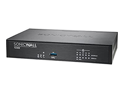 SonicWall TZ300 01-SSC-0215 VPN Wired Gen 6 Firewall Appliance (Hardware only)
