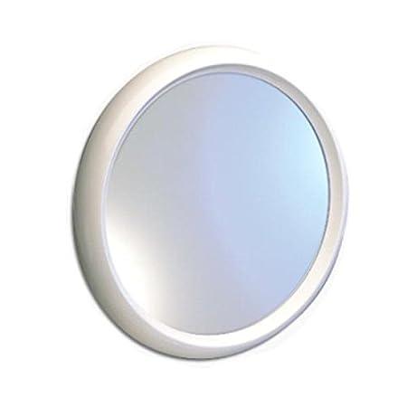 Toyma 620-Blanco - Round Mirror with White Frame, 60 cm: Amazon.co ...