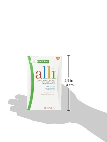 Alli Weight Loss Aid Refill 60mg-120 Capsules by alli by alli (Image #7)