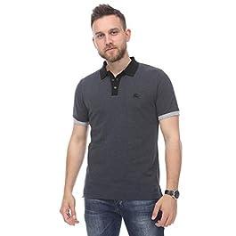 BURBERRY Brit Polo Shirt, Grey