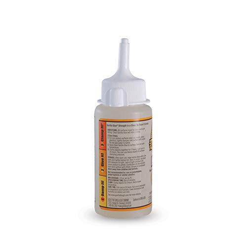 Gorilla 4537505 Clear Glue, 2 - Pack by Gorilla (Image #1)