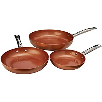 Amazon Com Copper Chef Round Pan 10 And 12 Inch 2 Pack
