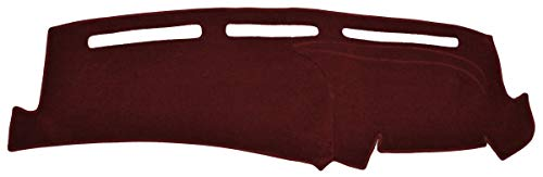 Seat Covers Unlimited Chevy El Camino Dash Cover (with A/C) - Fits 1982-1988 (Custom Carpet, Maroon) (Camino El Dash)