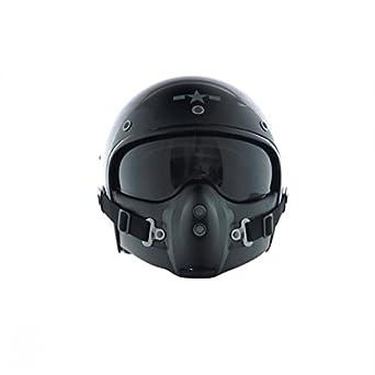 Corsair, color negro brillante, talla s-Harisson CA101S