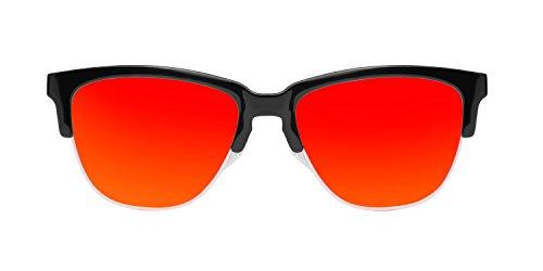 Gafas de Diamond Rojo Sol Black Hawkers Ruby Negro Unisex Classic 5XqxRSwI